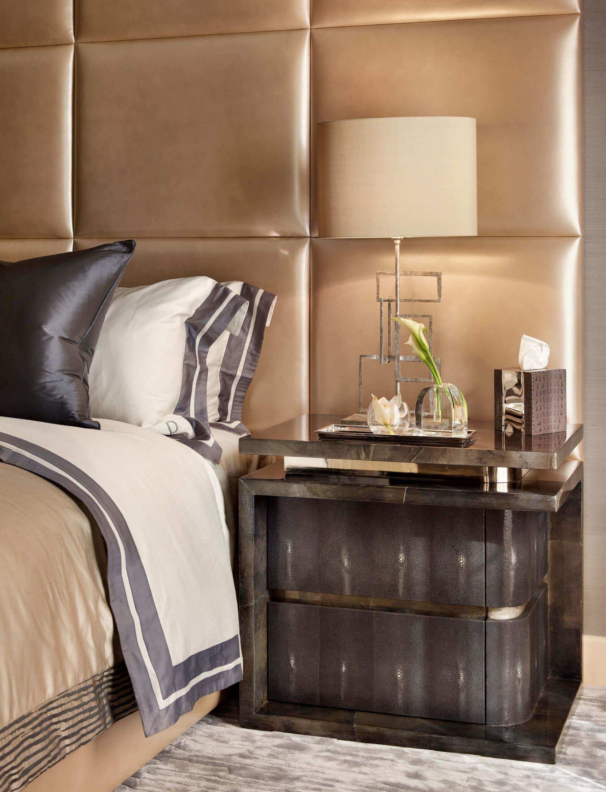 luxury interior shot of bedroom in Qatar