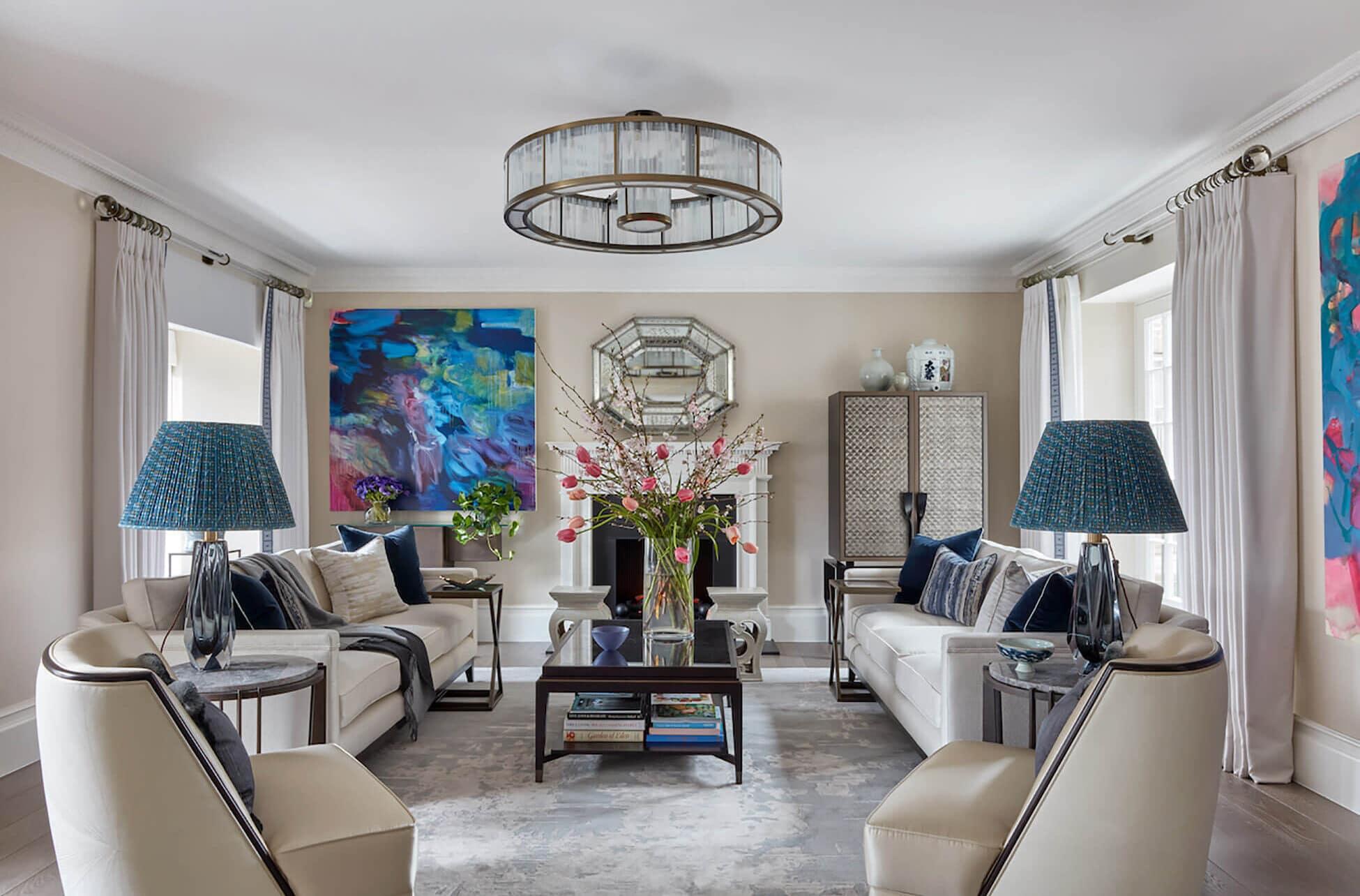 luxury interior designer in Kensington