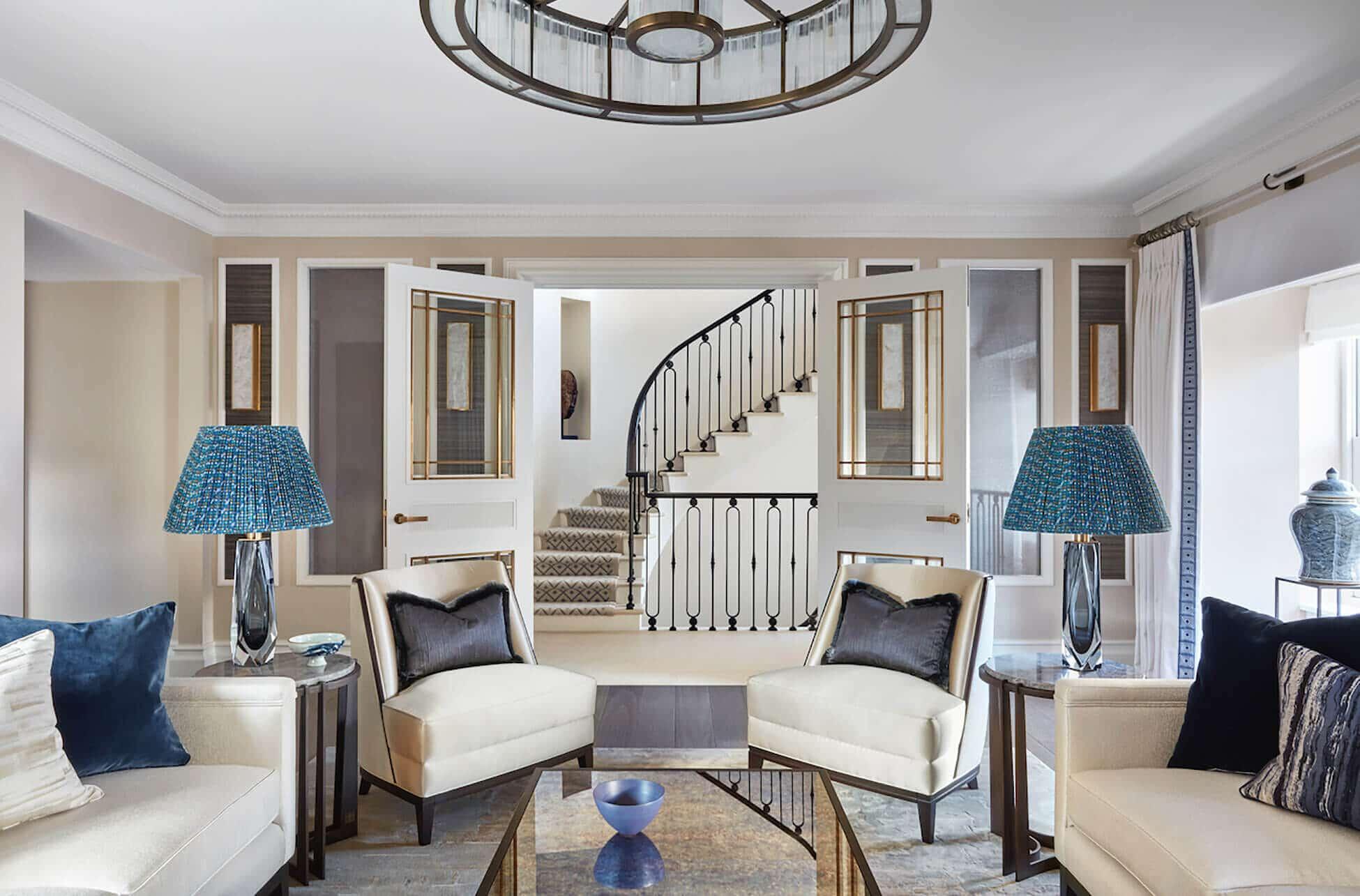 luxury interior design project in Kensington