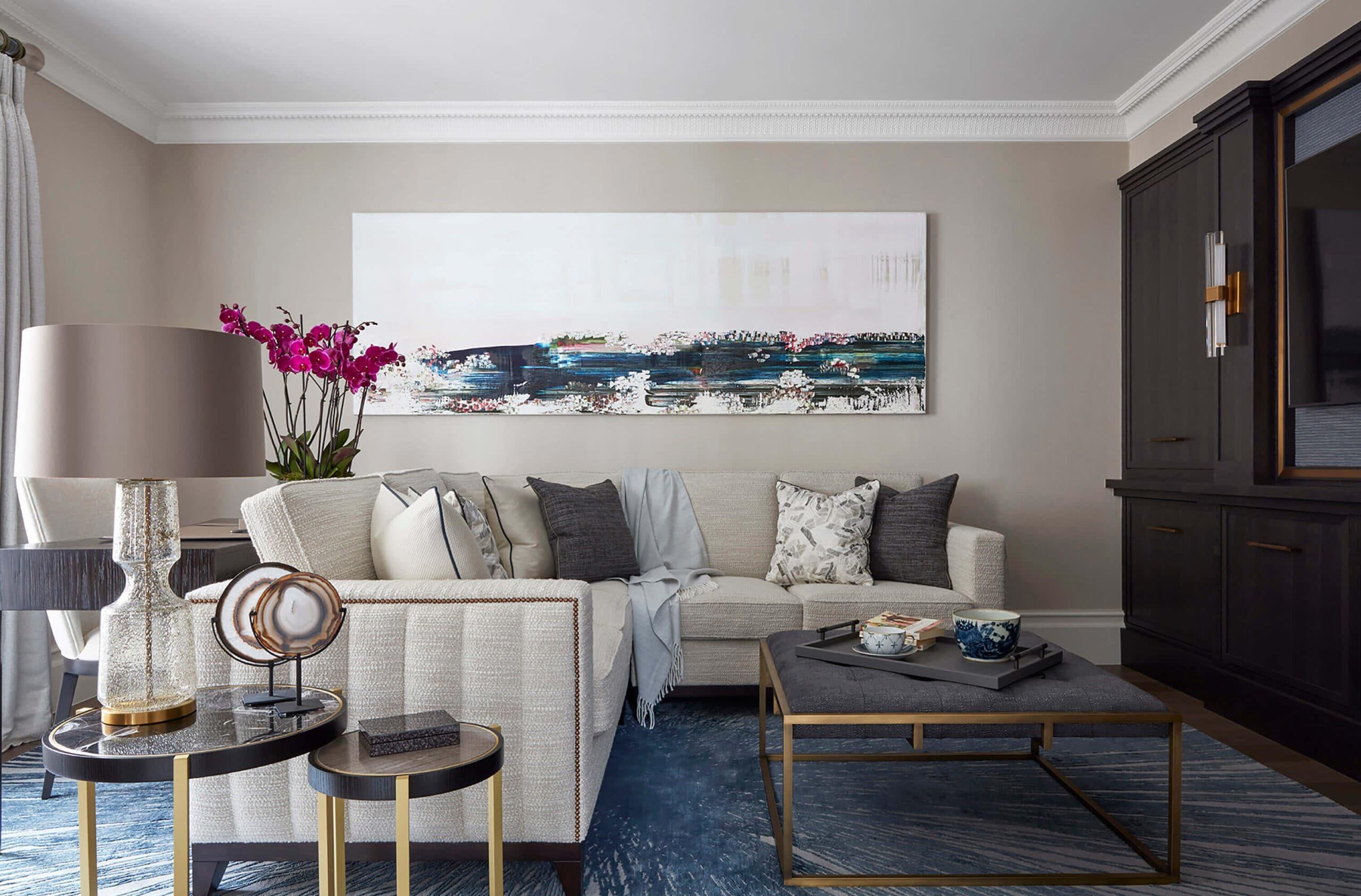 luxury interior design townhouse project in kensington