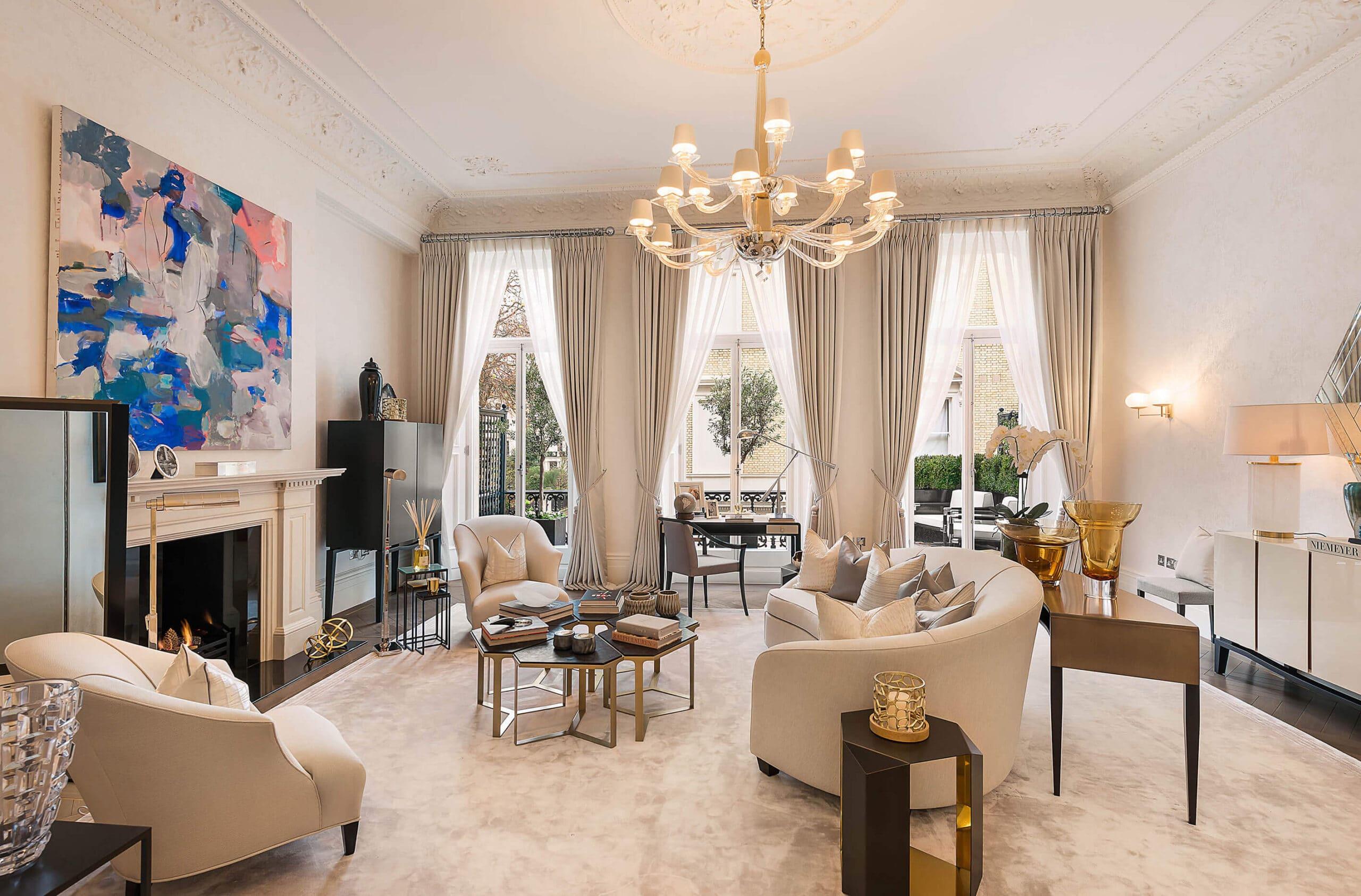 luxury interior design knightsbridge