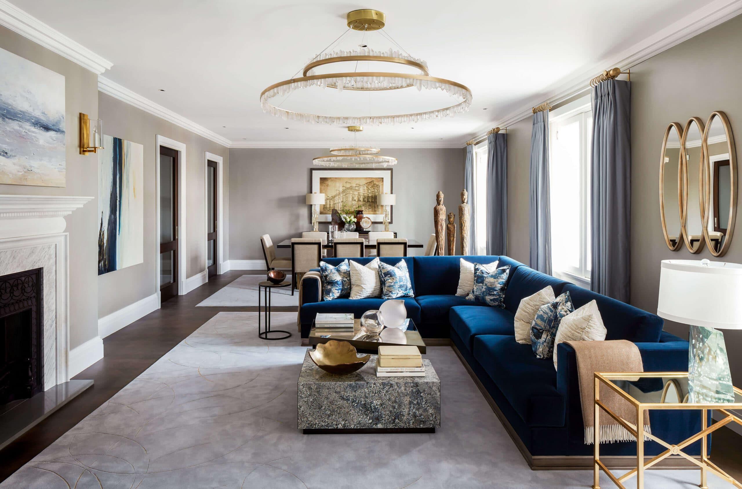 interior designer westminster st james' project
