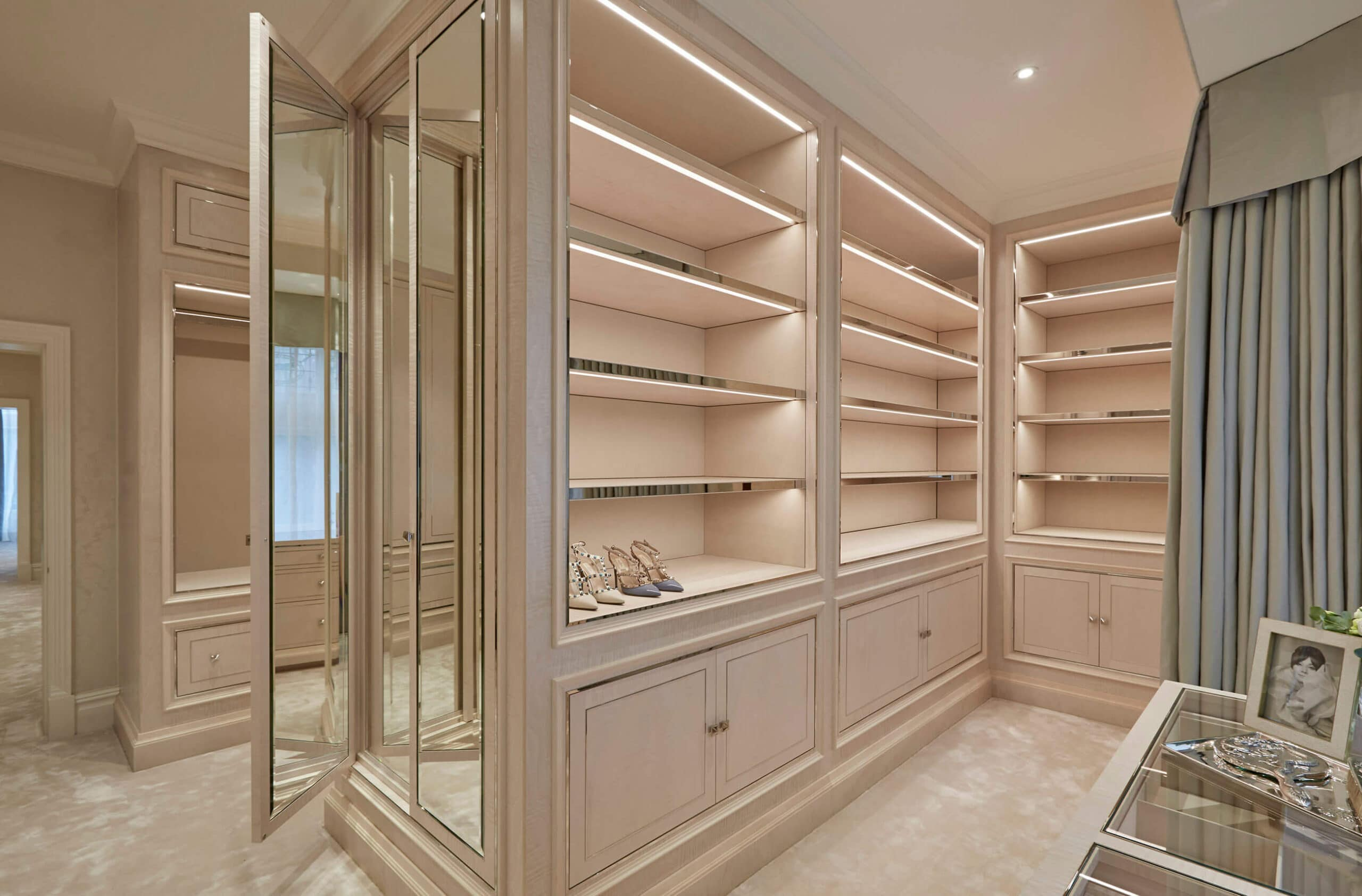 Luxury joinery in interior design project by Katharine Pooley