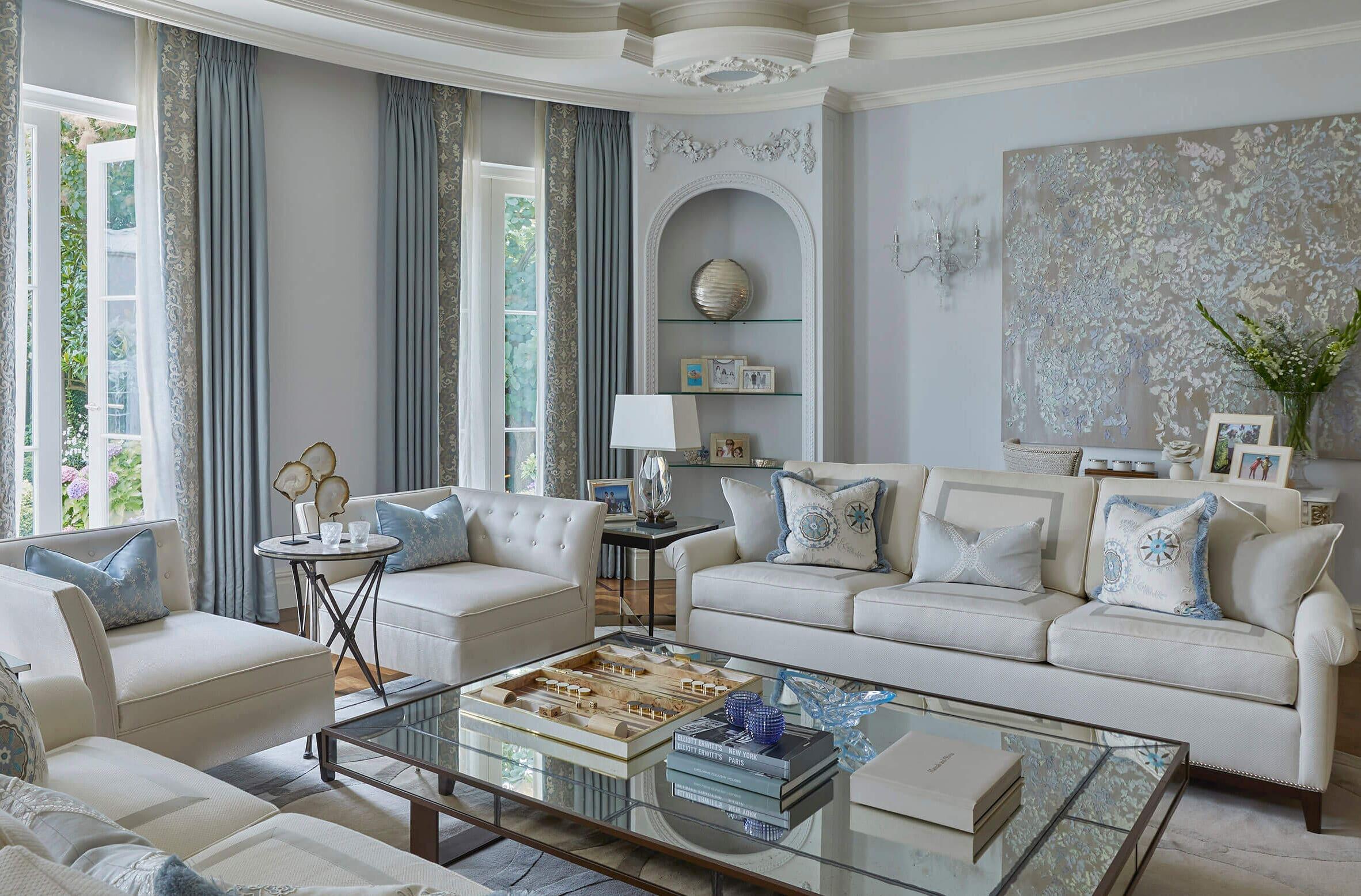 Classic family home interior design