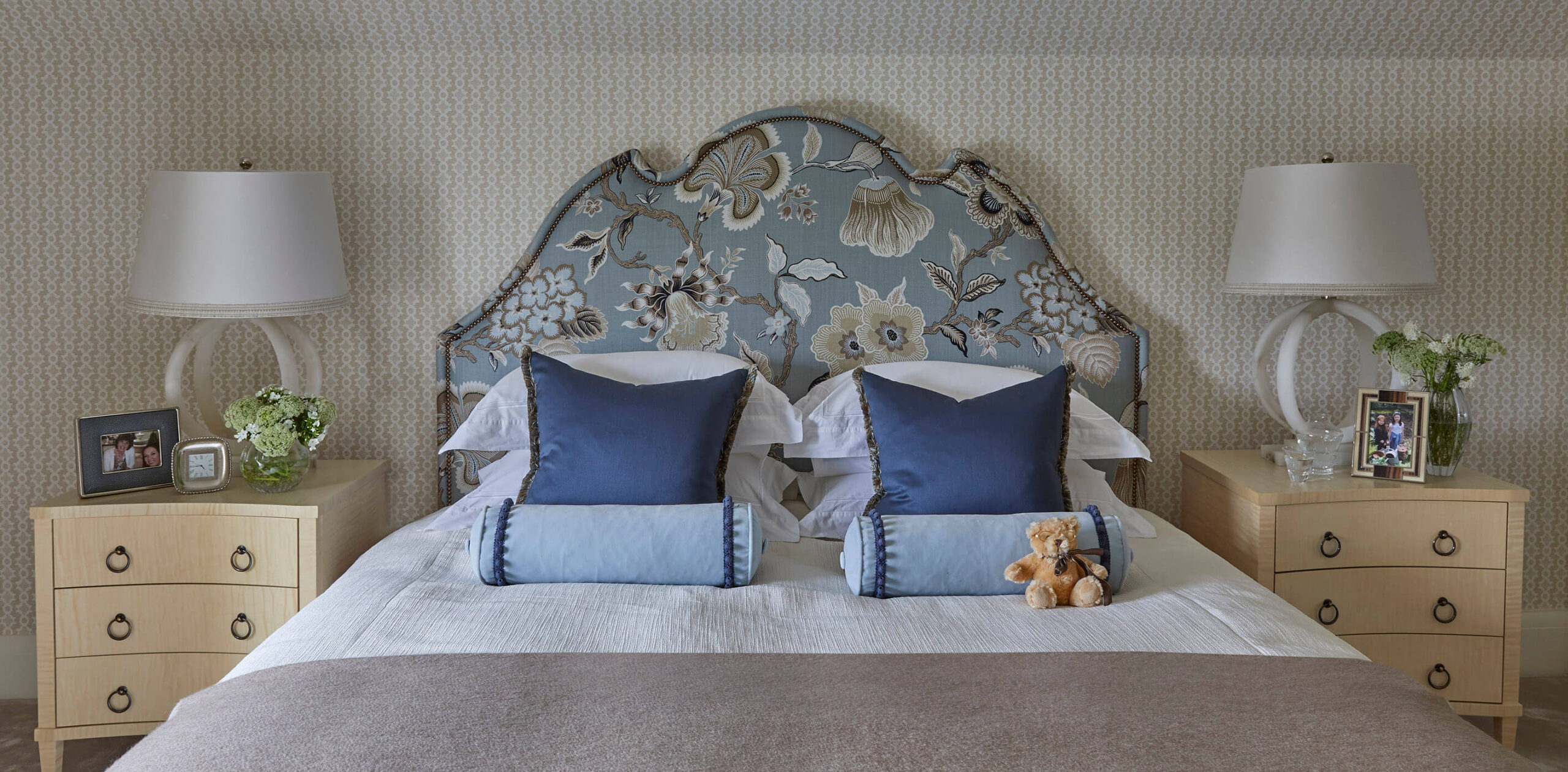 master bedroom in classic family home