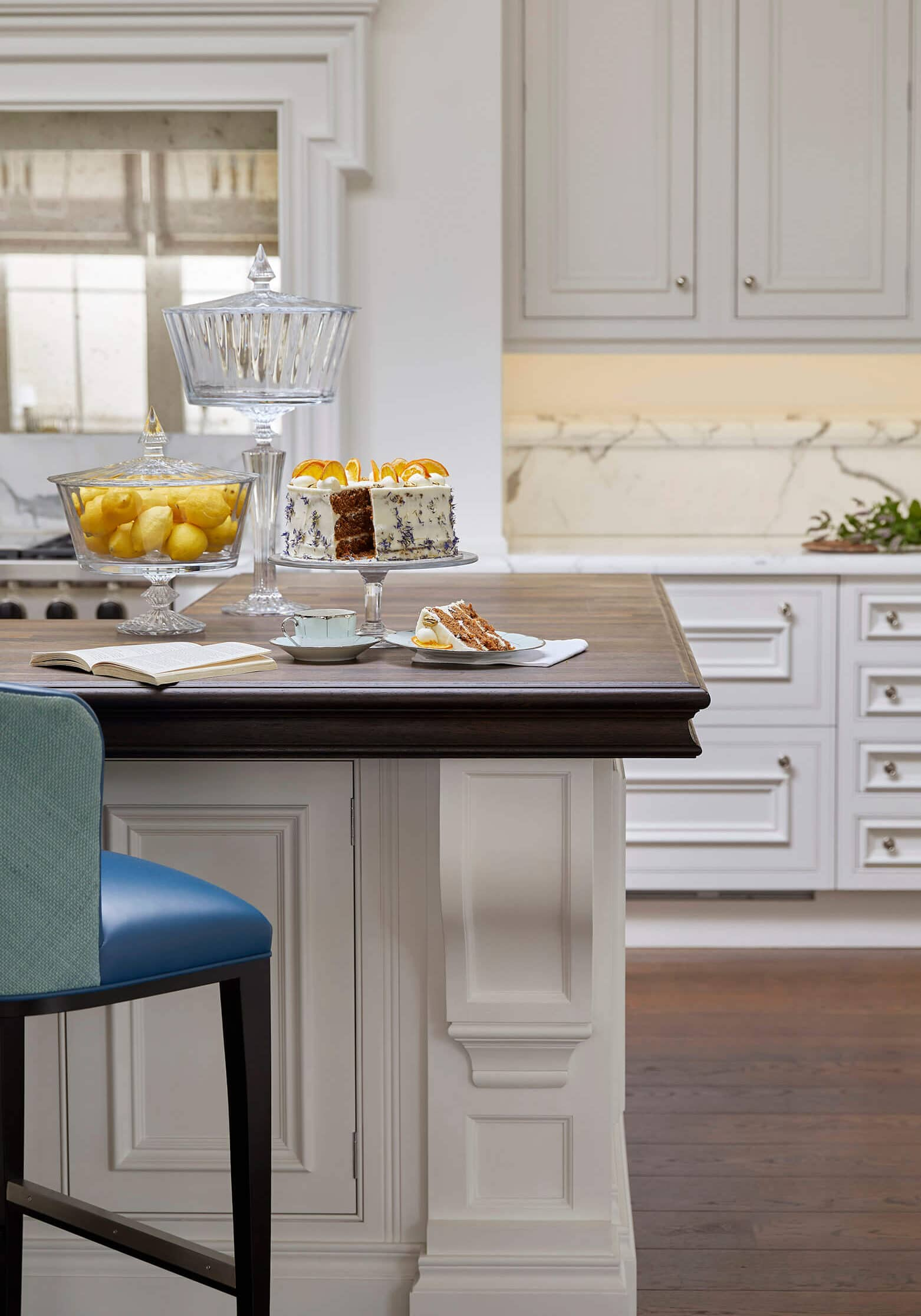 Kitchen of interior design project by Katharine Pooley