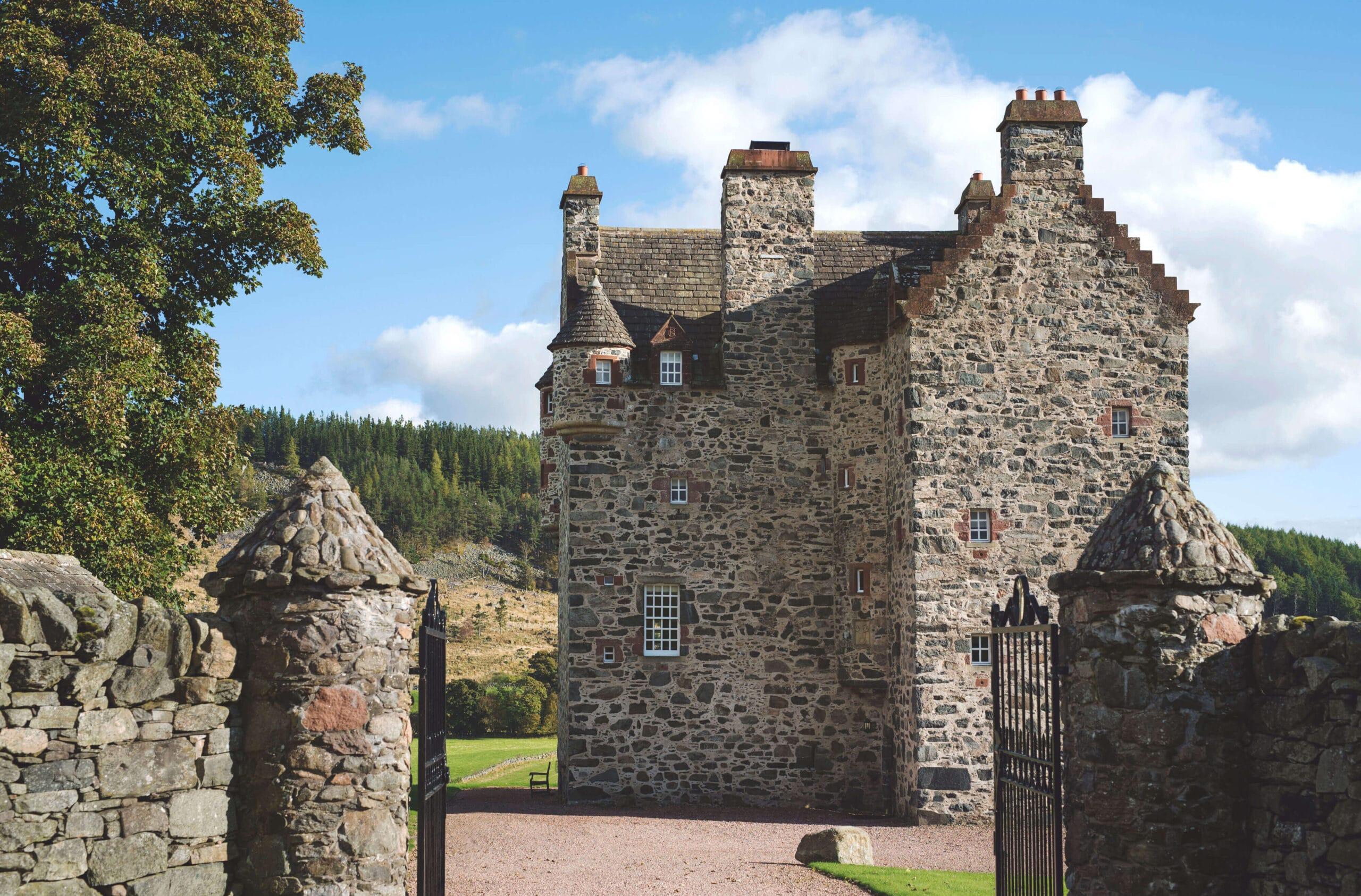 Forter castle exterior shot
