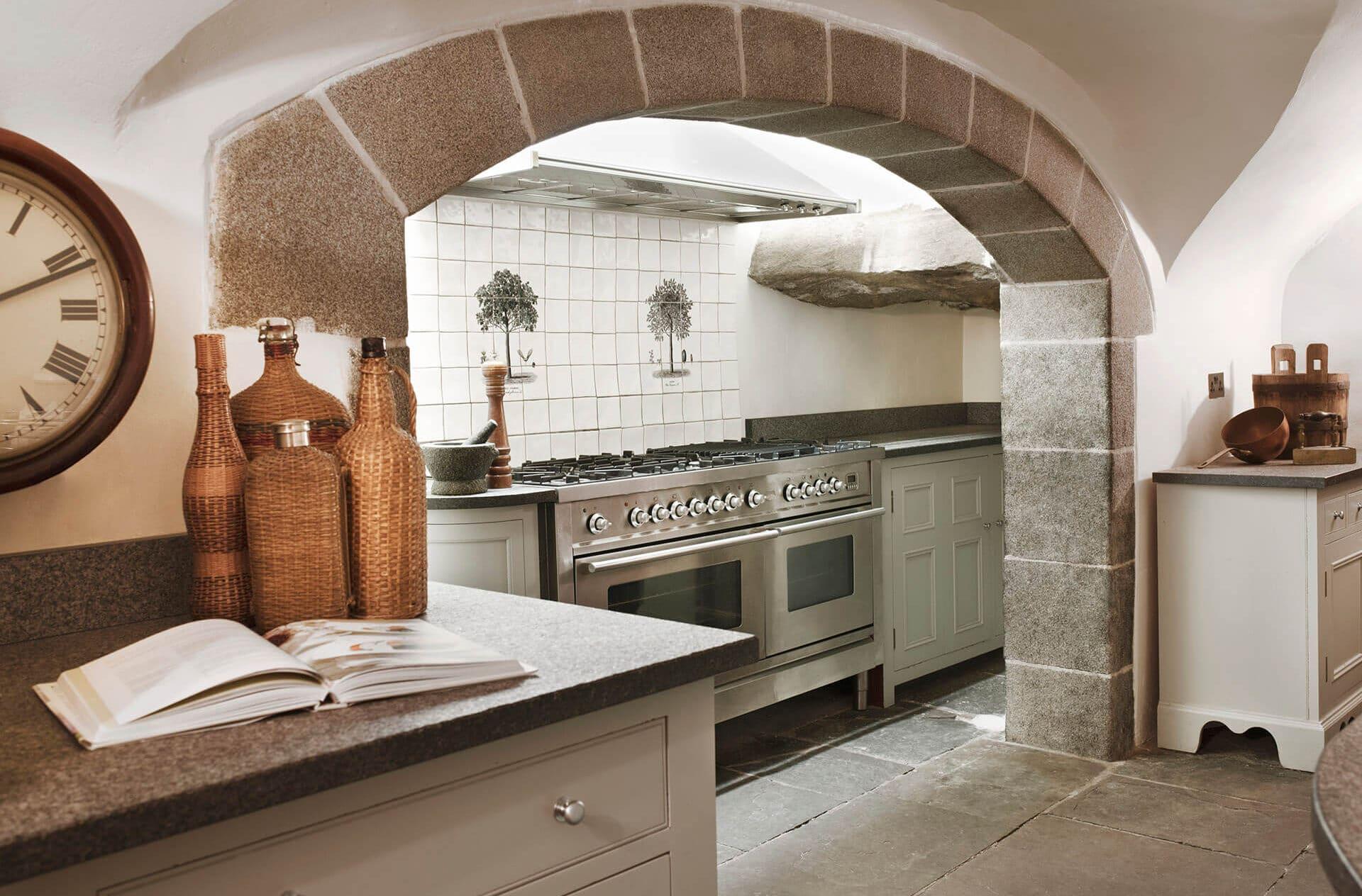 kitchen in scottish castle