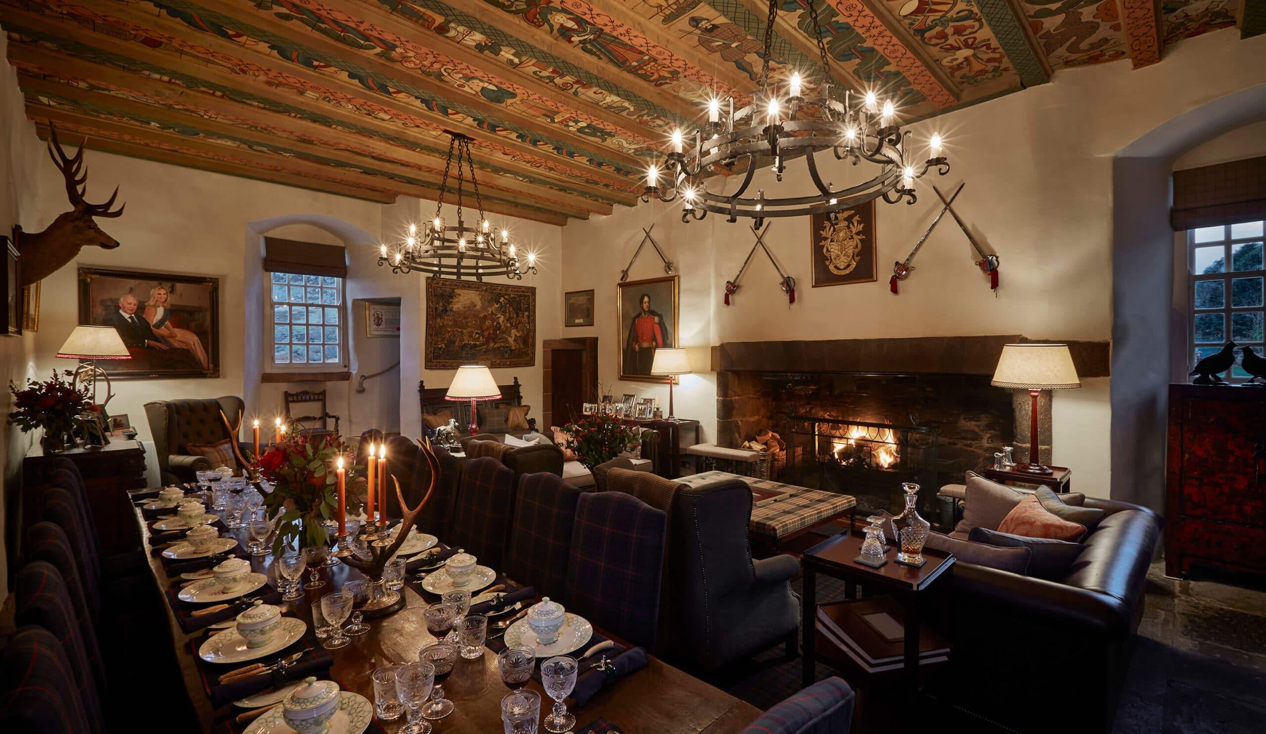 Scottish large dining area