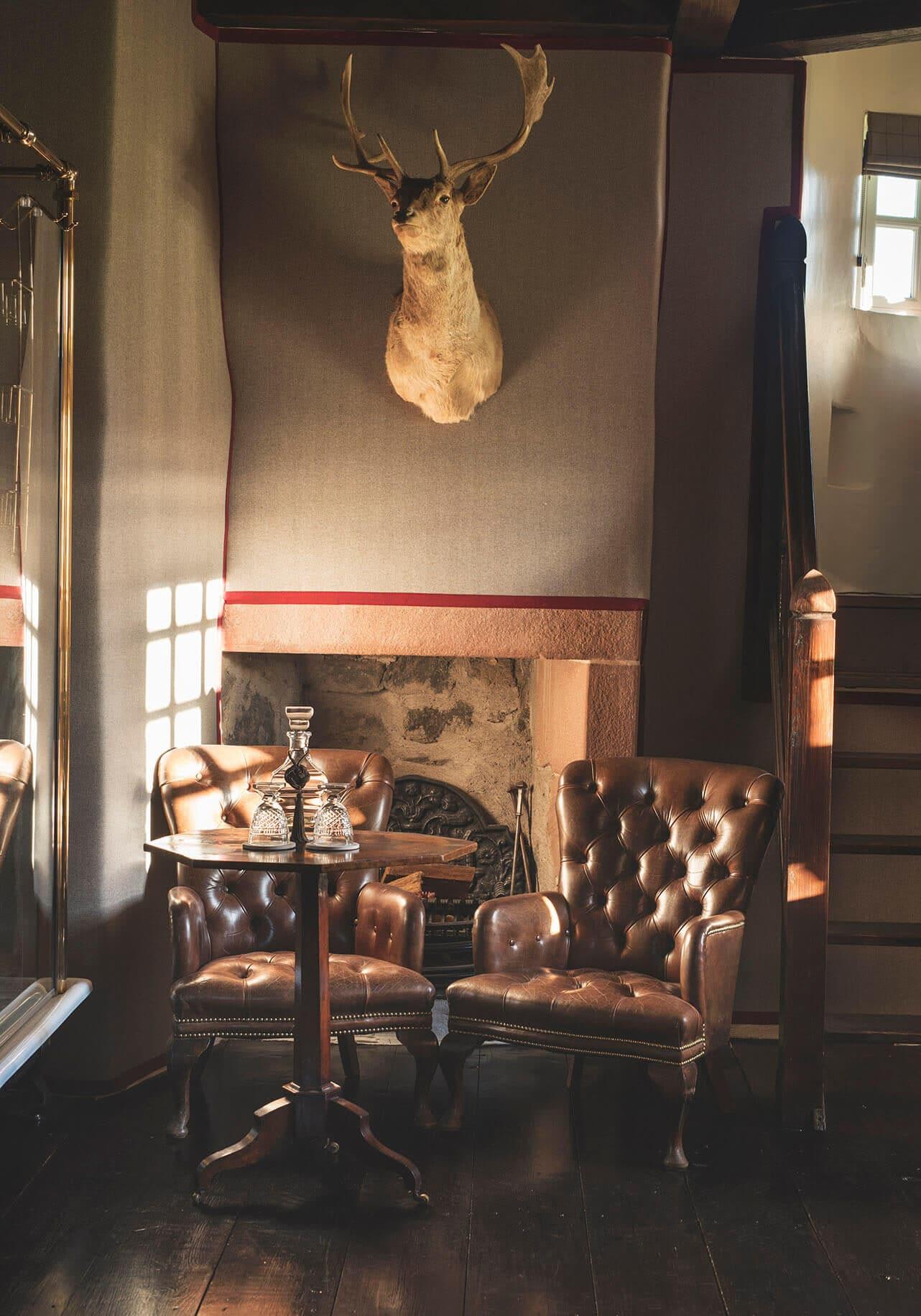 scottish castle interior design
