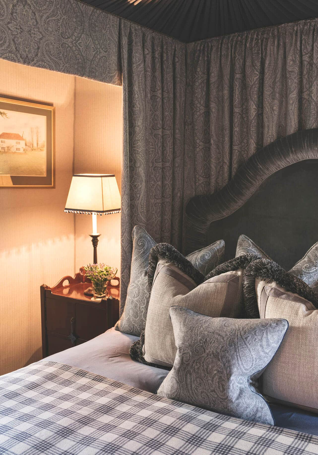 Bedroom in scottish castle project