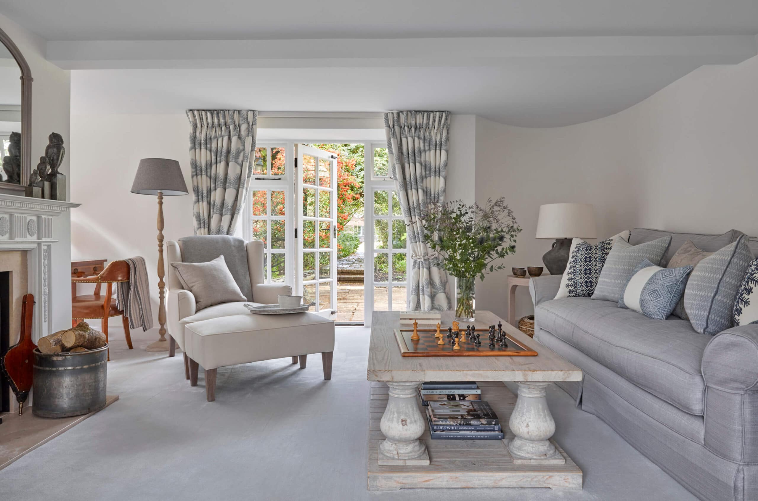 Converted Mill House Living room