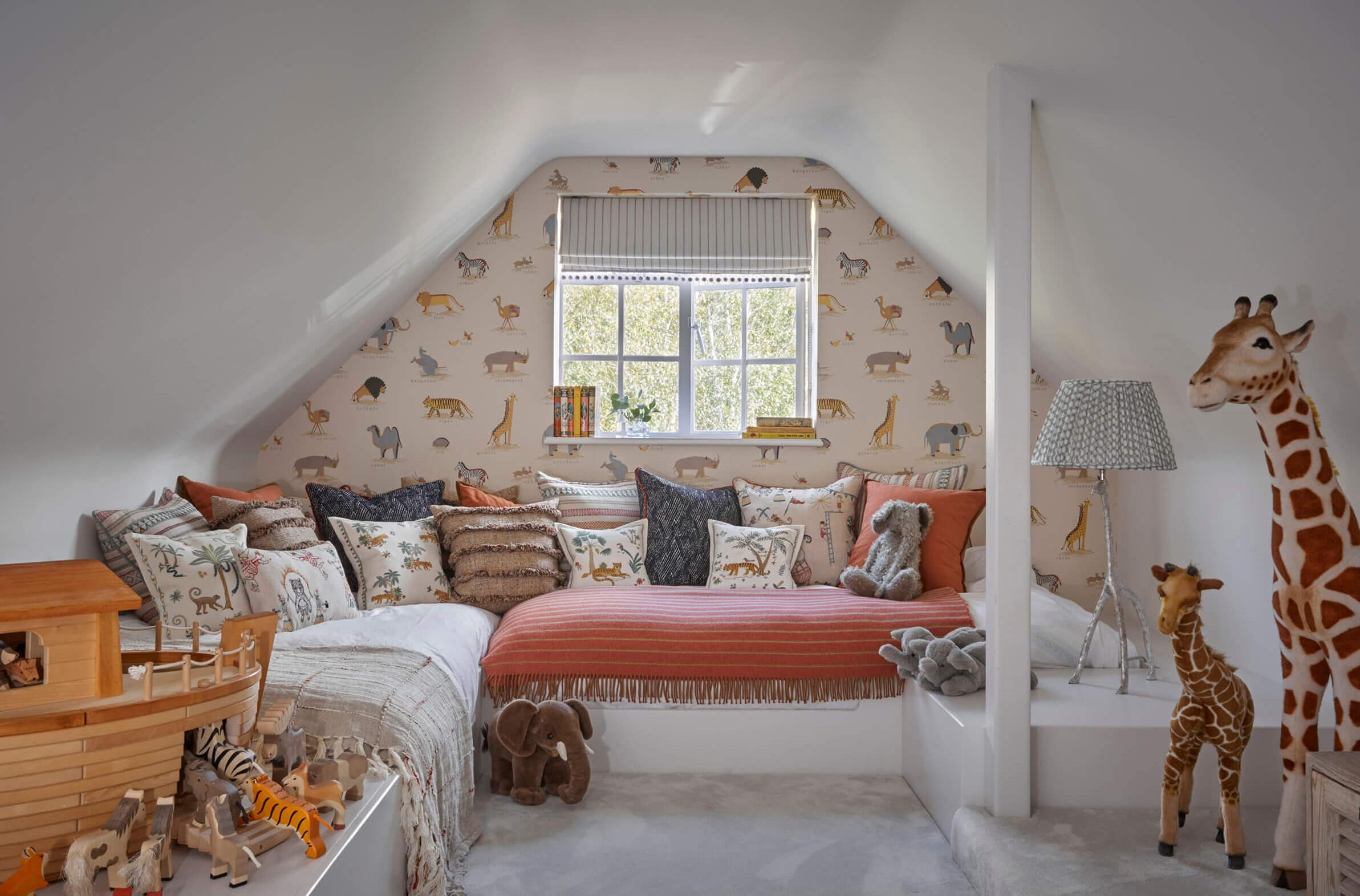 Children's bedroom in luxury converted home