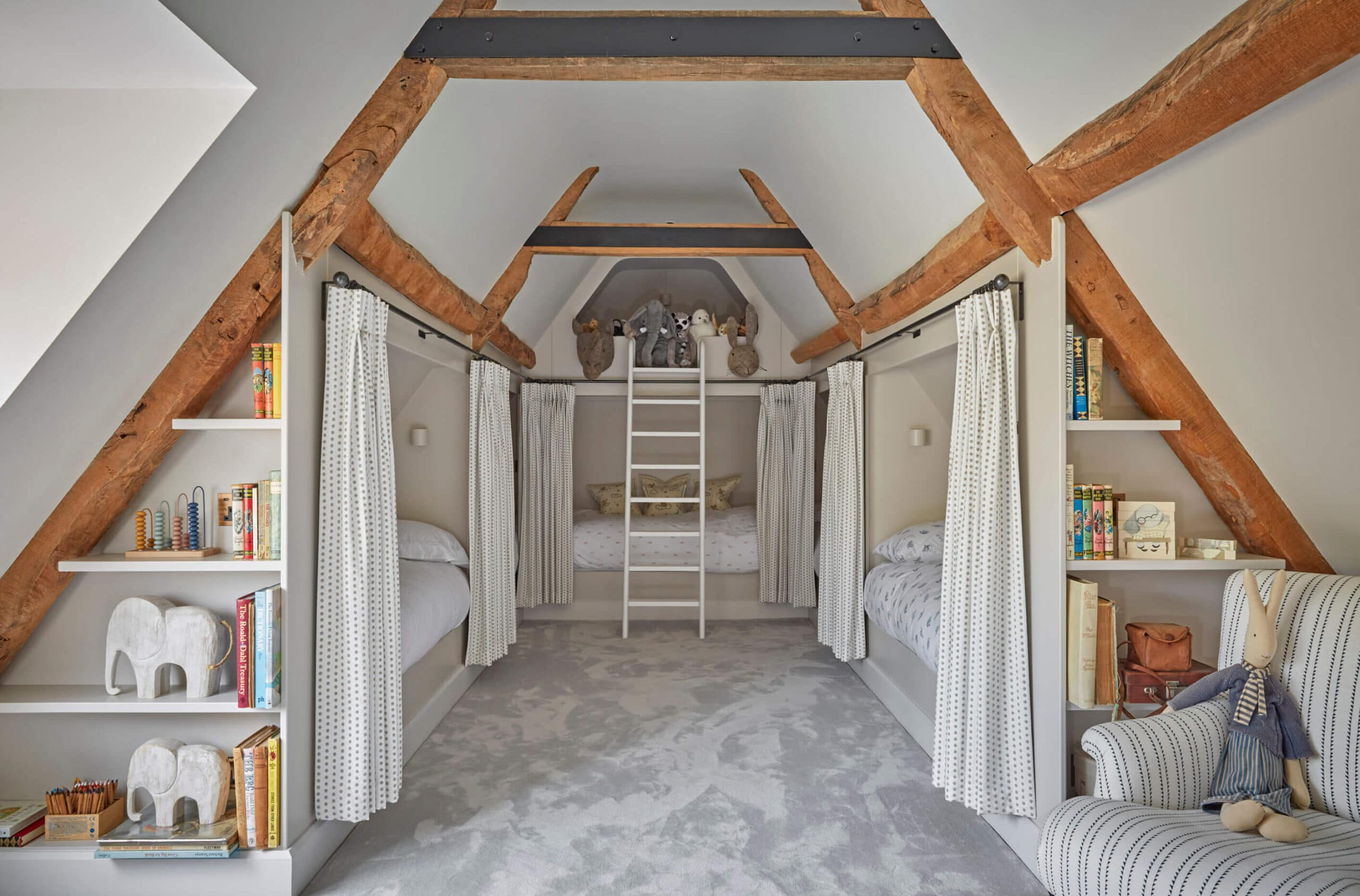 loft conversion of luxury country home