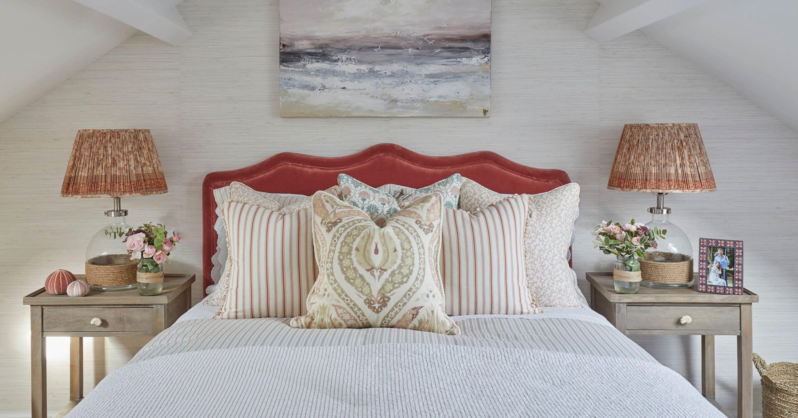 Bedroom in Devon design project