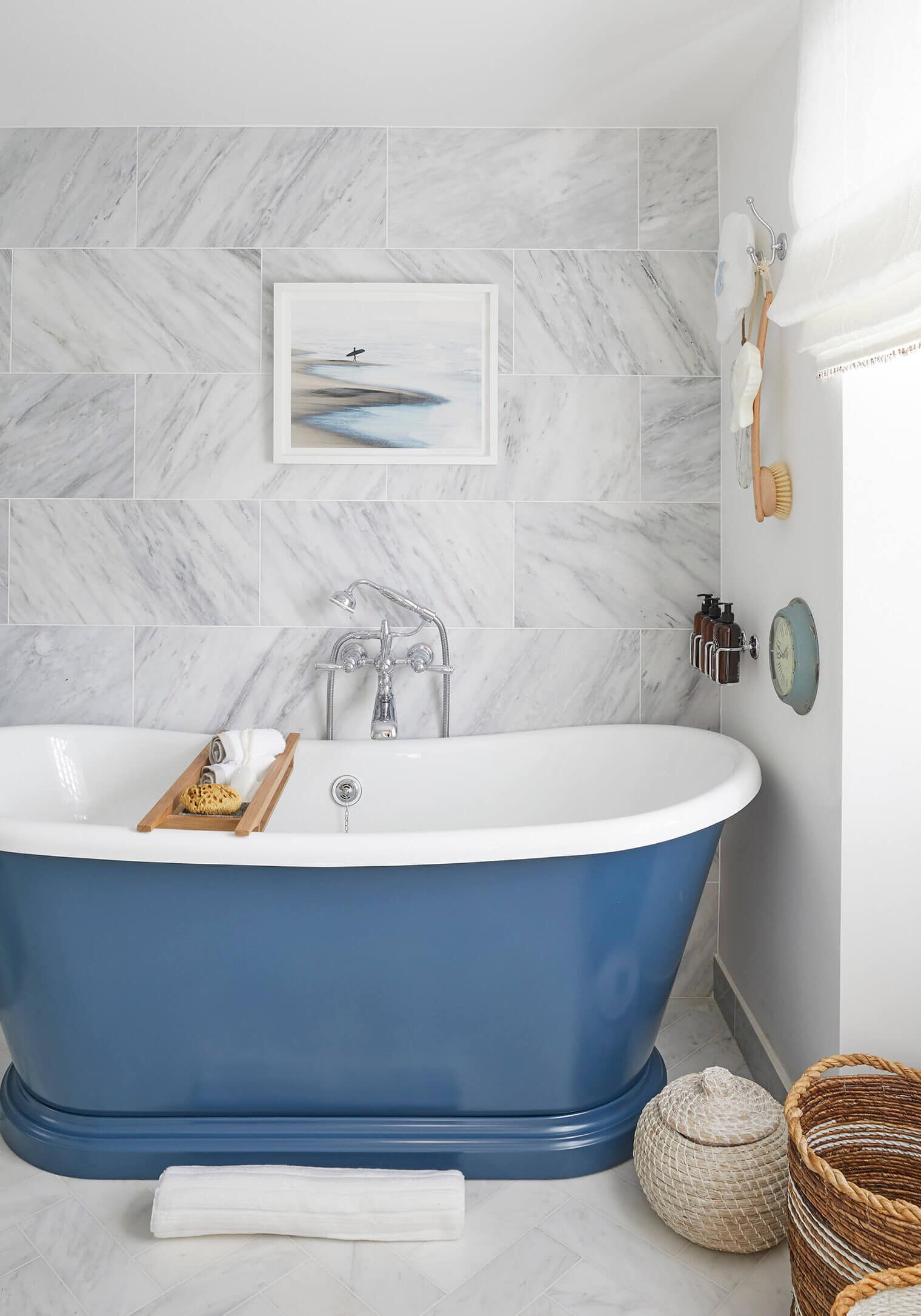 Bathroom in Devon project