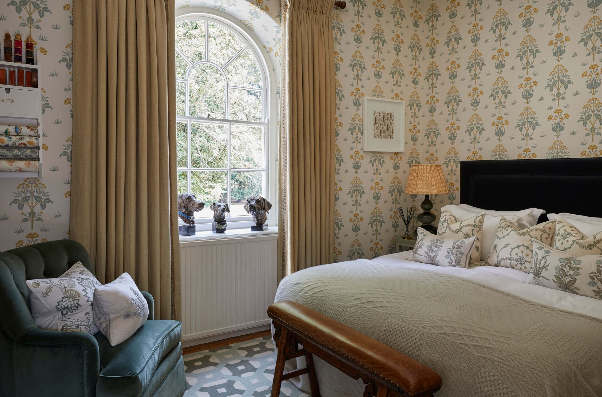 classic English country house interior