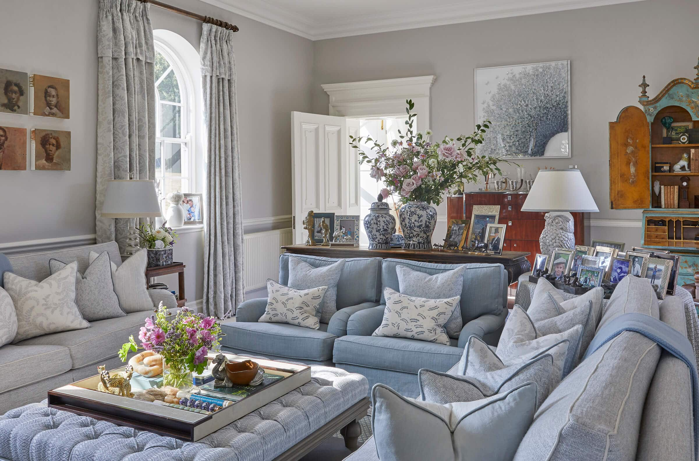 Country house interior designers UK