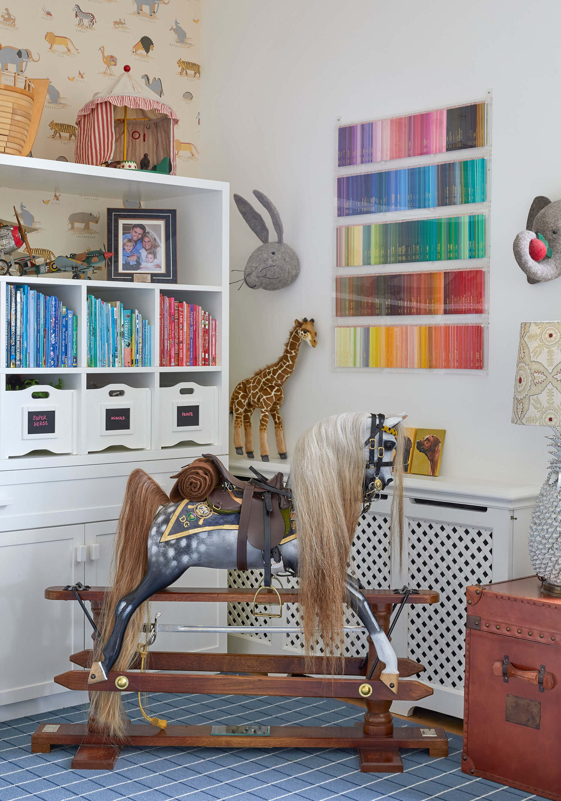 children's room in country house