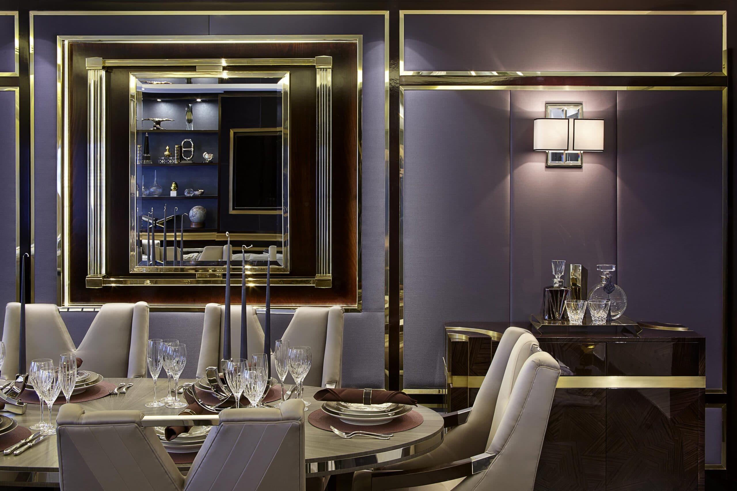 Grovesnor square interior designer London
