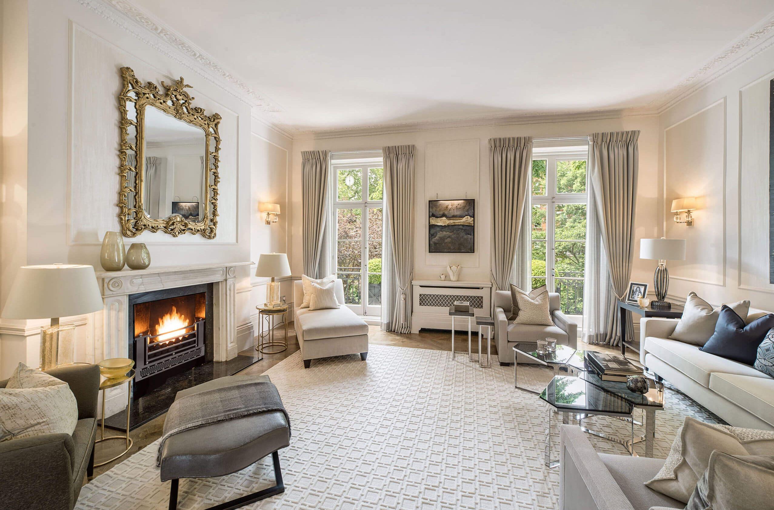 Luxury interior design for London townhouse