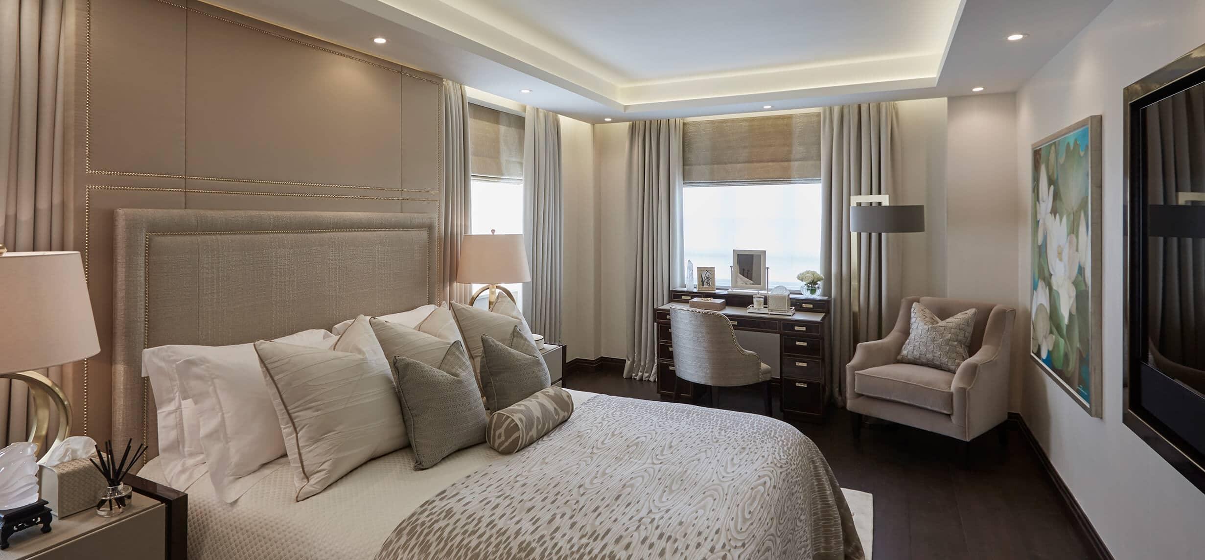 Luxury interior design project in Hyde Park