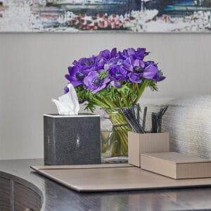 Auri Leather Desk Set