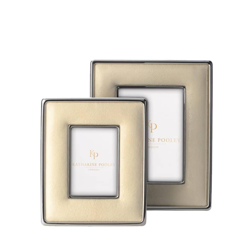 Classic Ivory Shagreen Photograph Frame