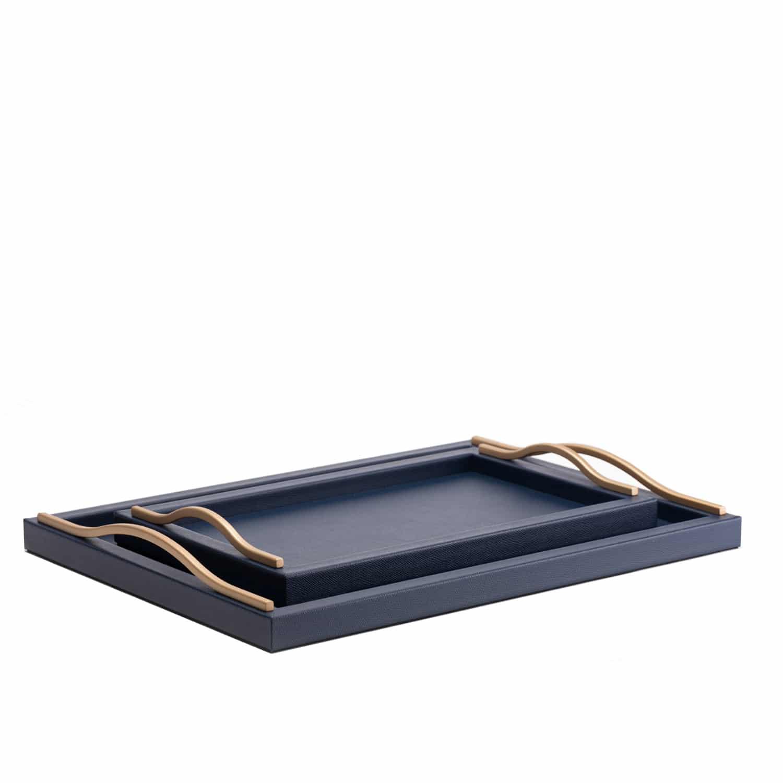 Ferdinand Leather Tray