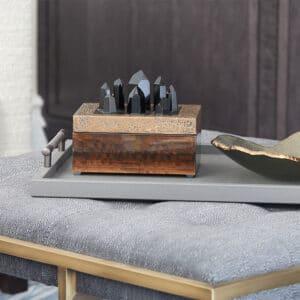 Hugo Leather Tray