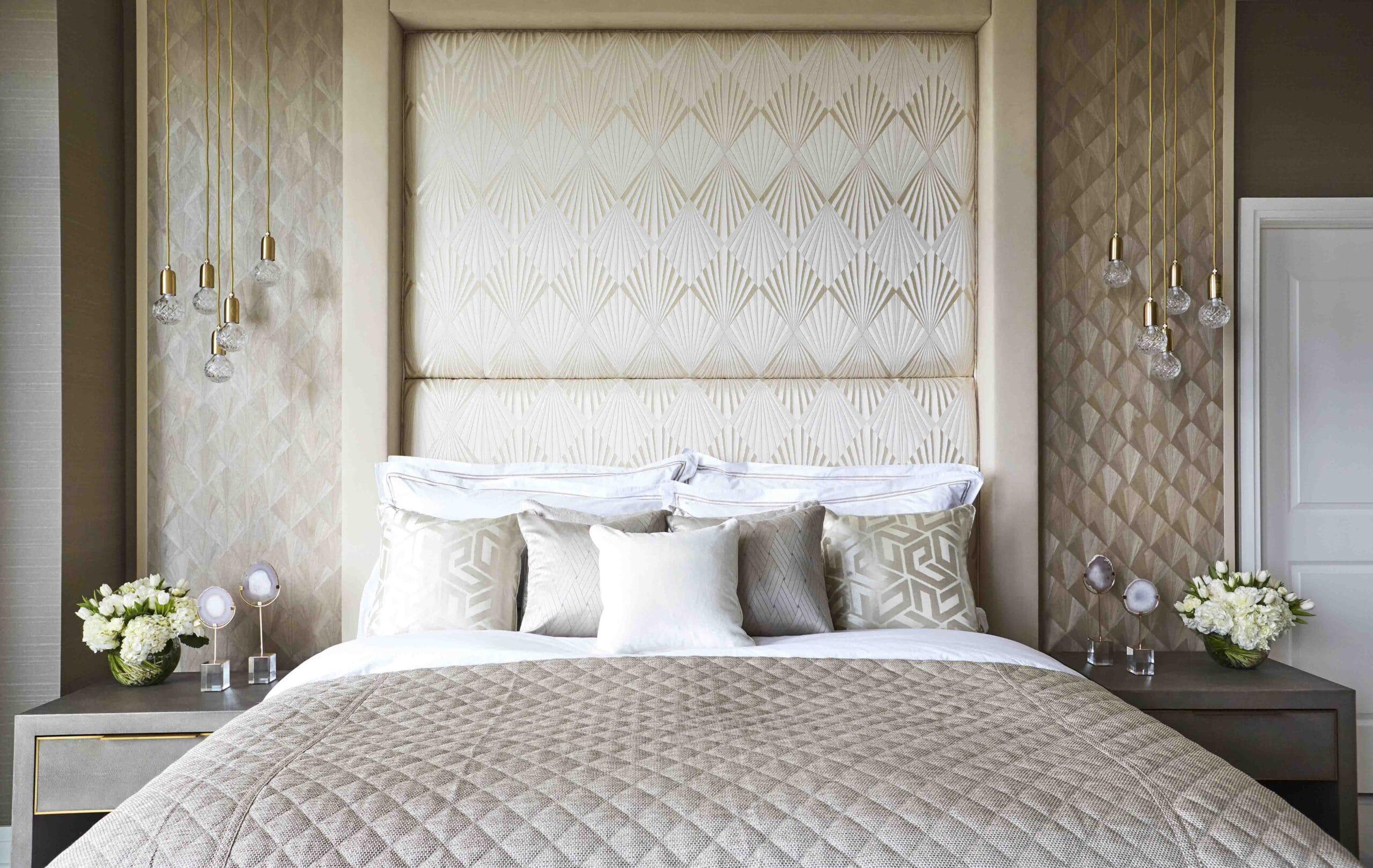Bedroom in washington interior design project