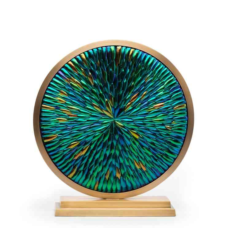 Scarab Disc Sculpture