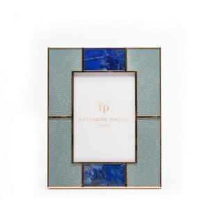 Lapis Shagreen frame