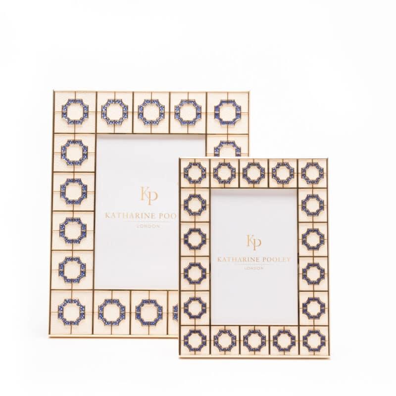 Luxury photo frame with octagonal design