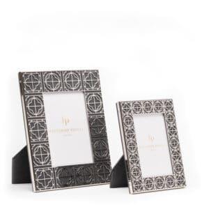 Luxury leather photo frame