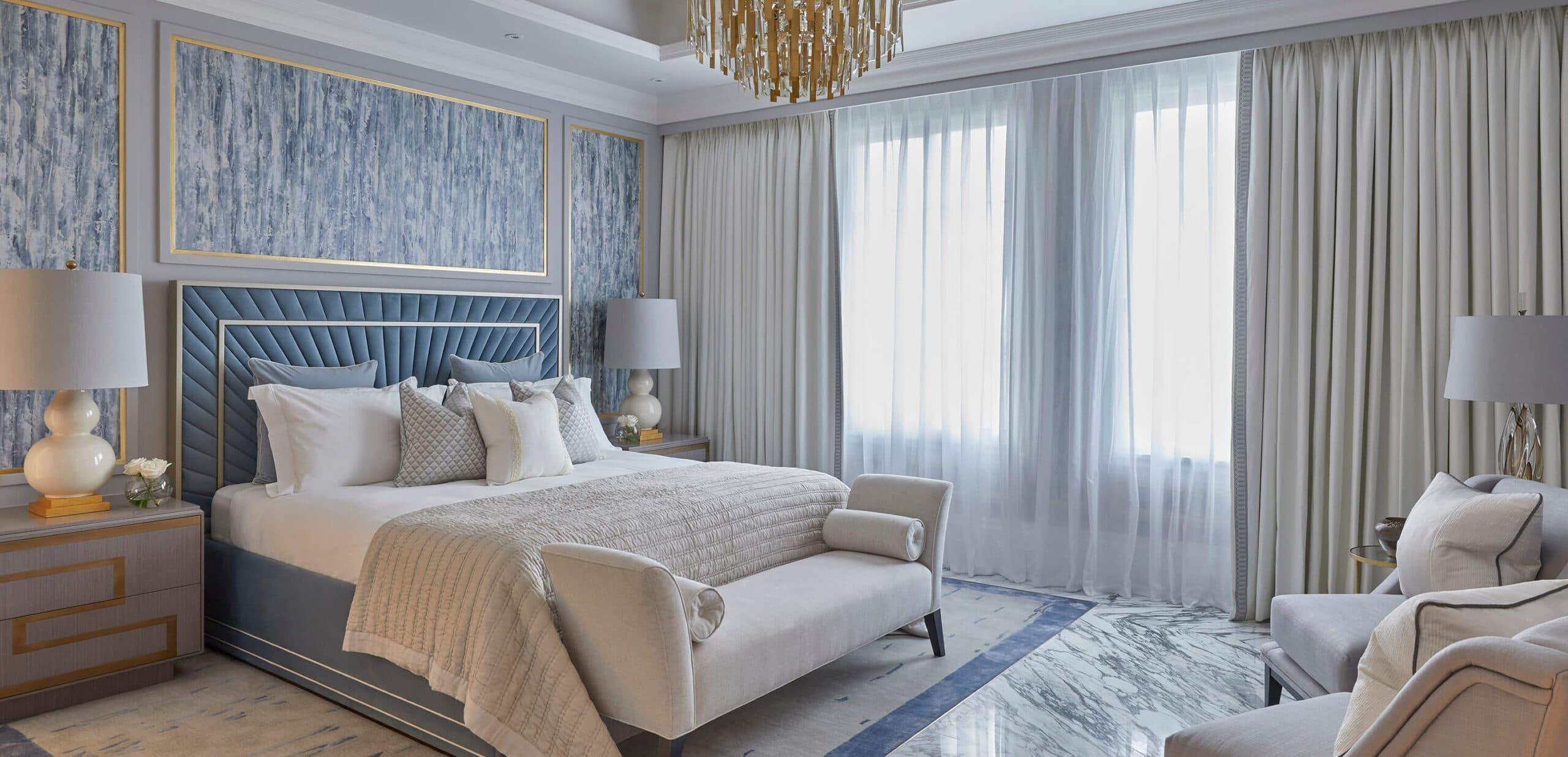 doha pearl villa interior design