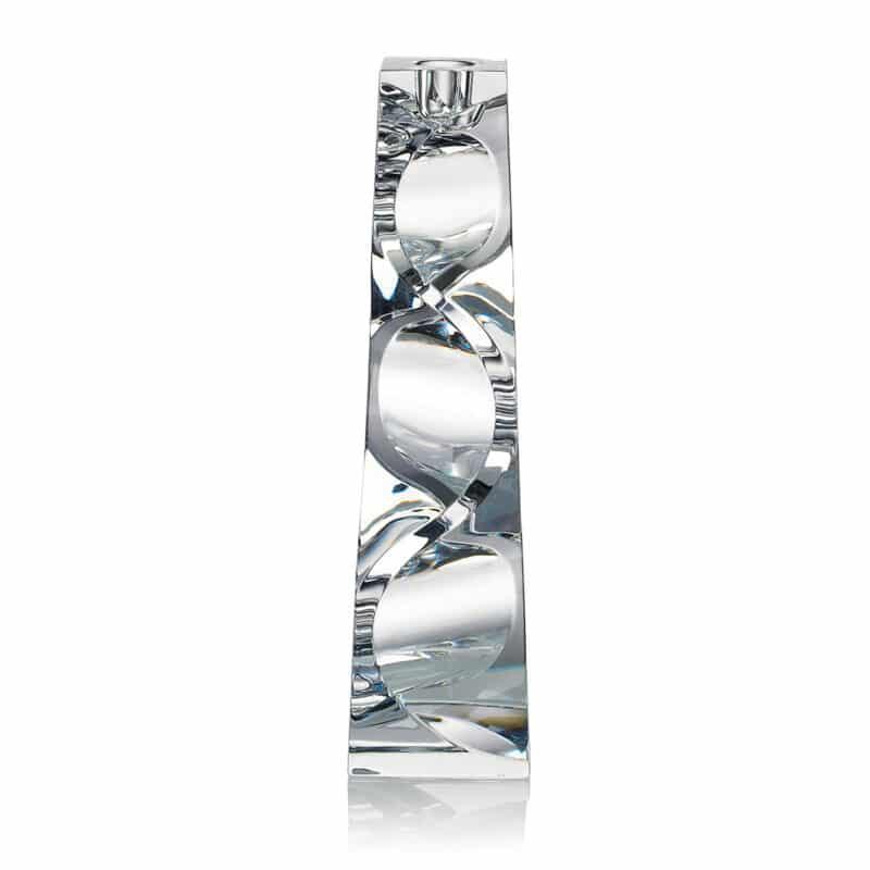 Designer Spiral Crystal Candleholder