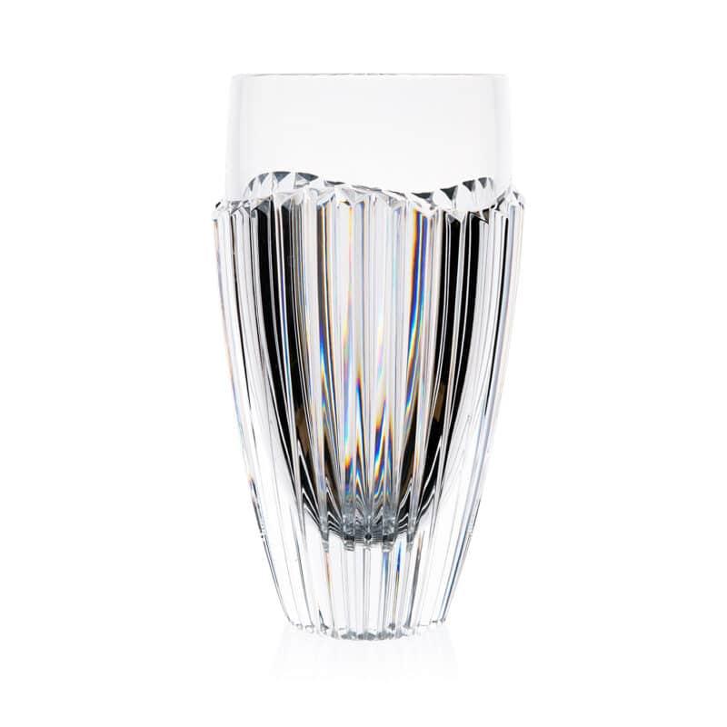 Luxury Crystal Angular Faceted Vase