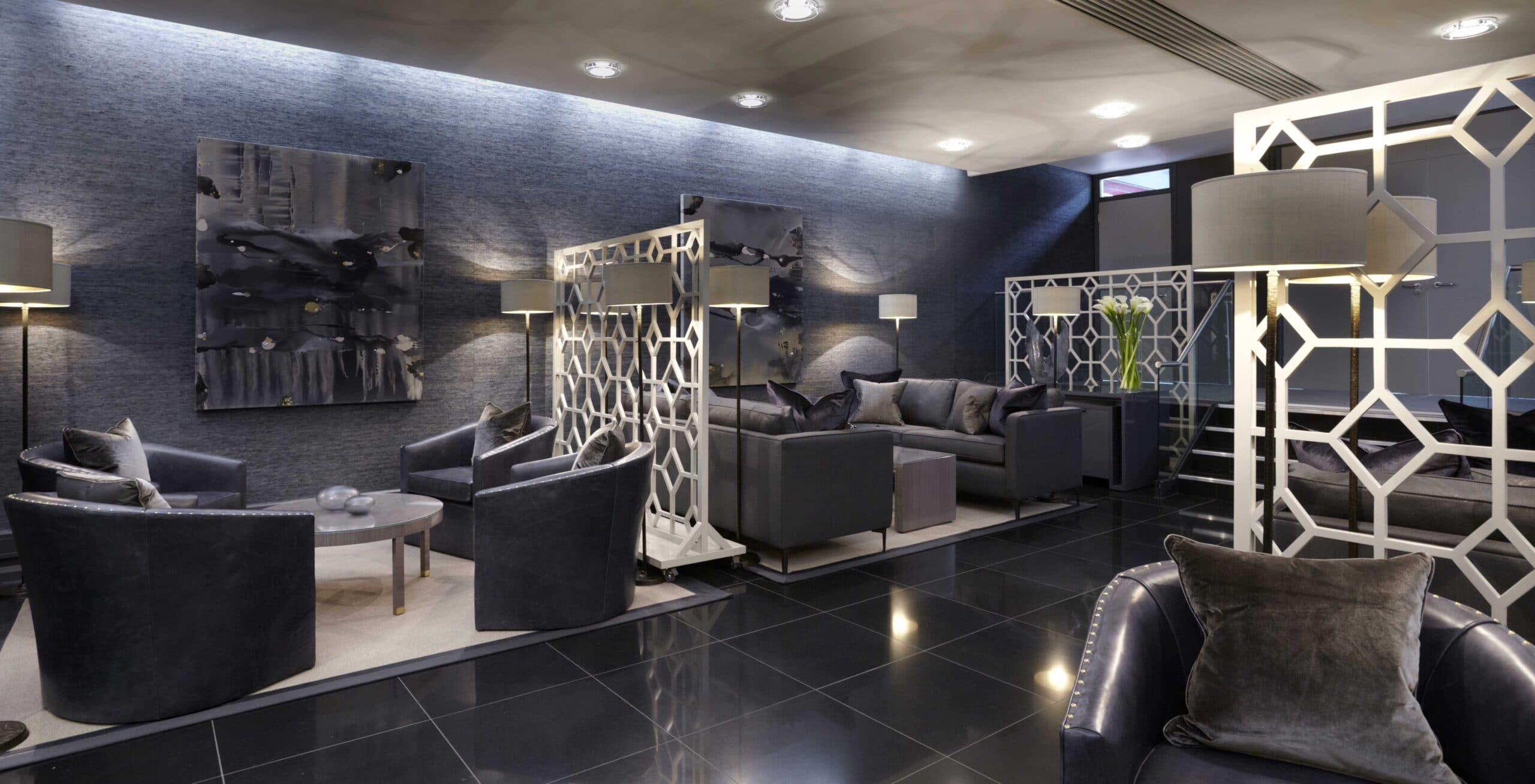 Heathrow airport interior design project