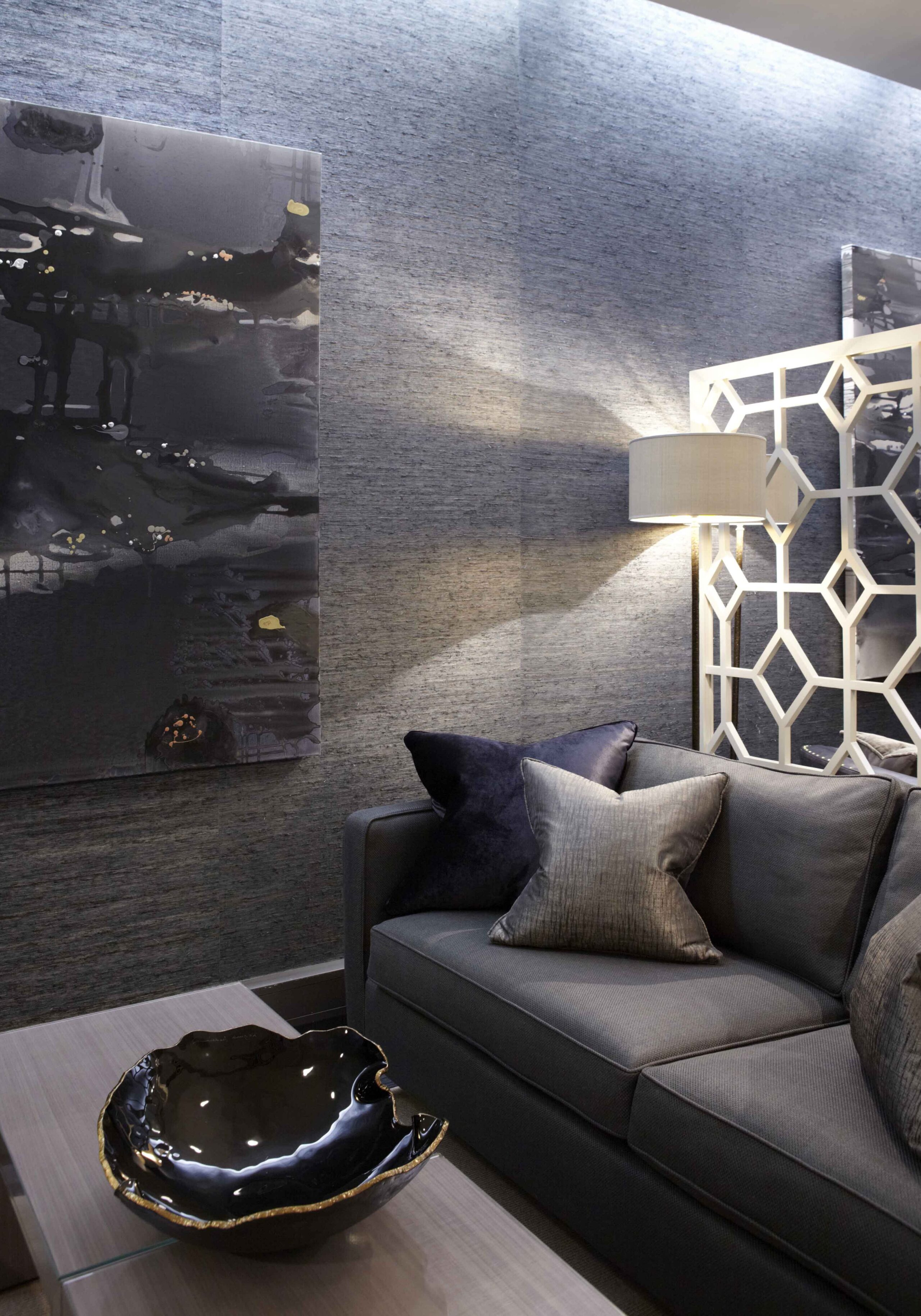 Terminal 5 Heathrow interior design project by Katharine Pooley