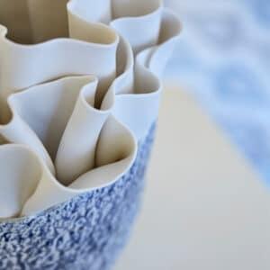Anemonie Porcelain Vase