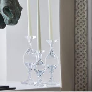 Spiral Crystal Candleholder
