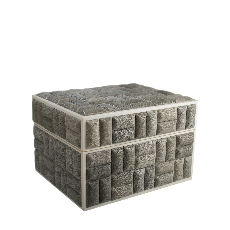 Emilia Shagreen Box