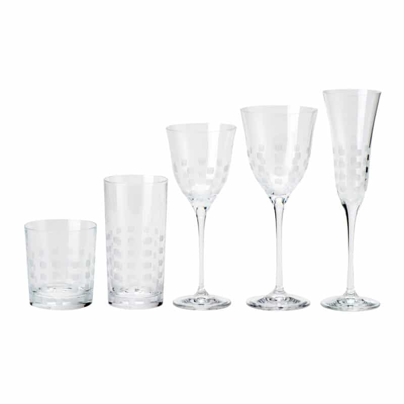 Jacques Luxury Fine Crystal Glassware