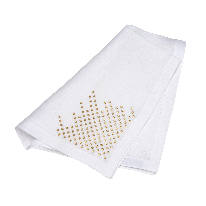 Linen Napkin Gold