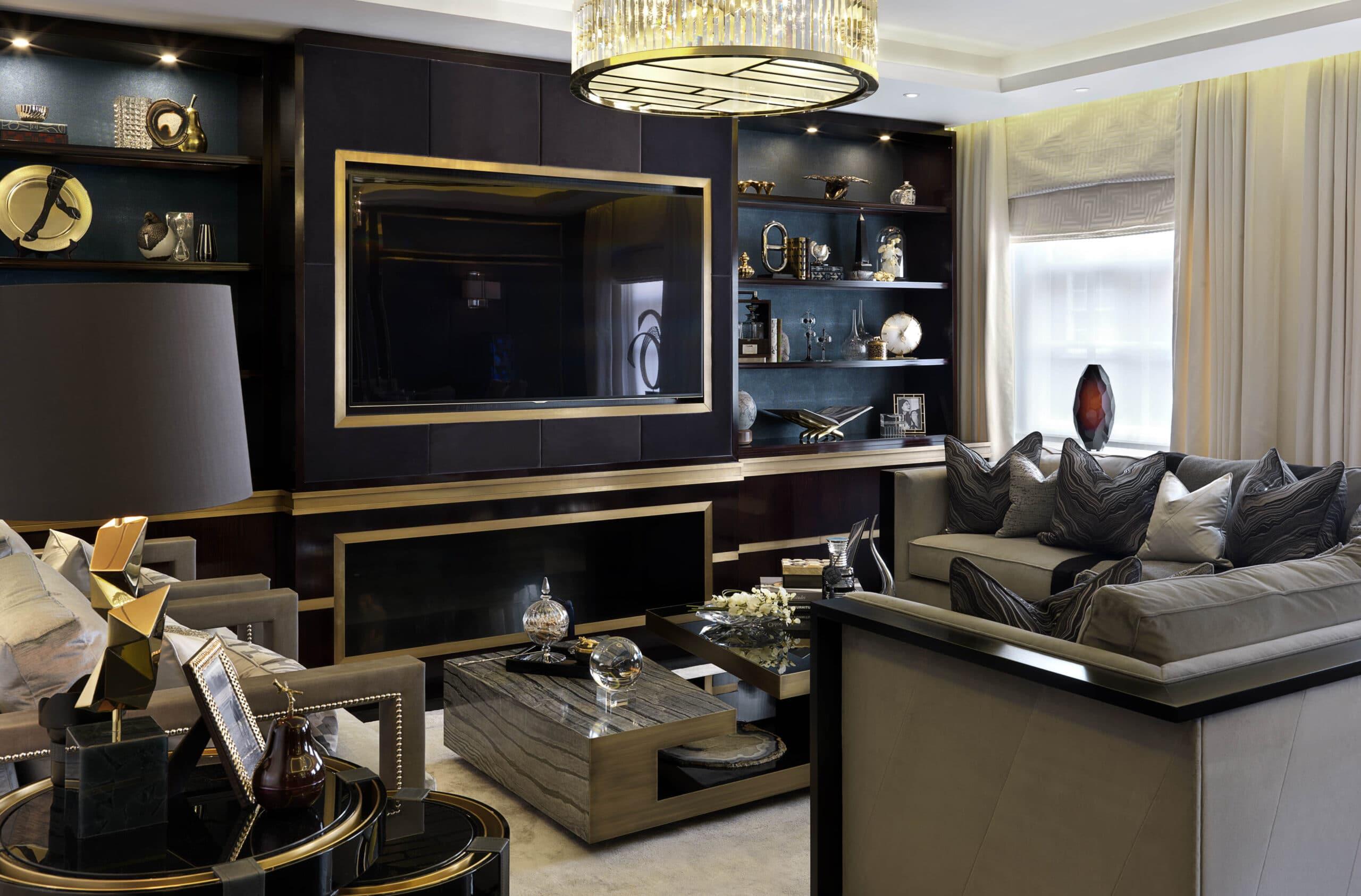 Luxury interior design grosvenor square london