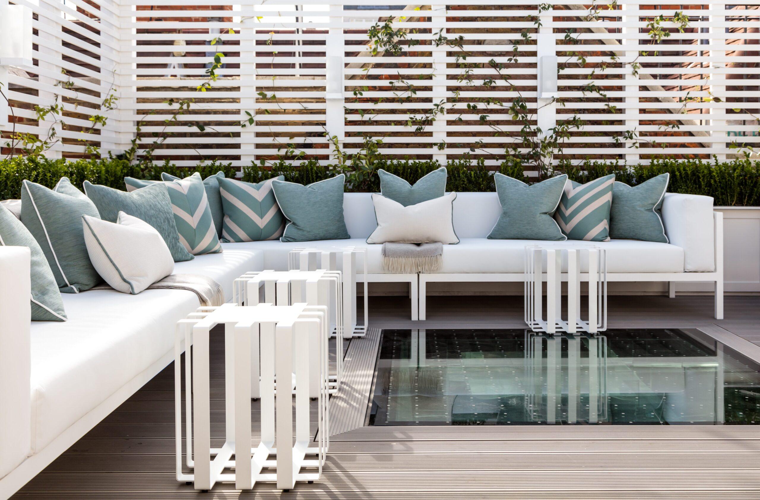 Private pool in luxury mayfair residence