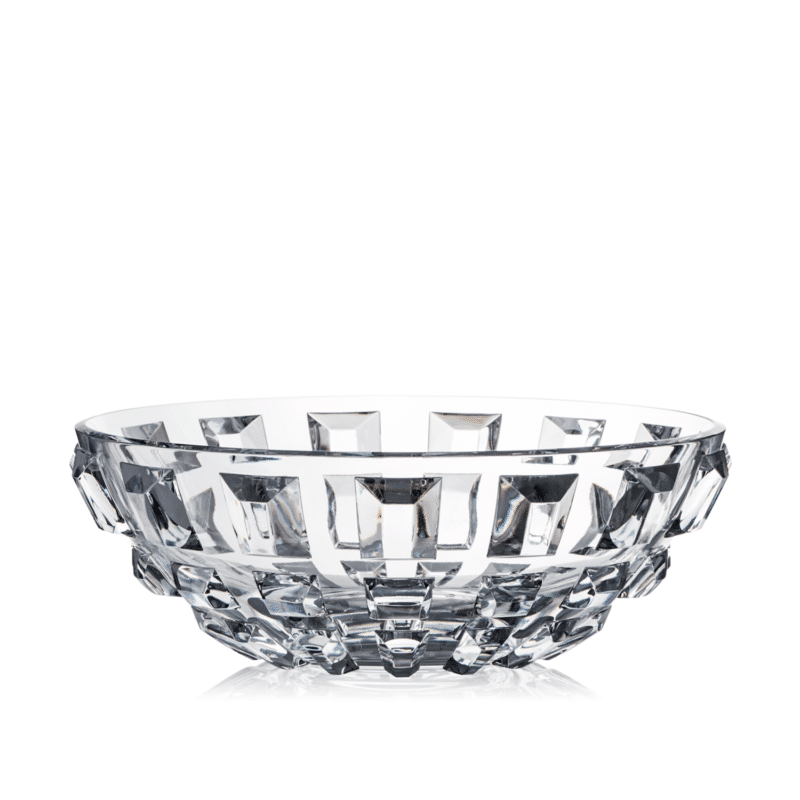 luxury Handcrafted Prism Crystal Bowl