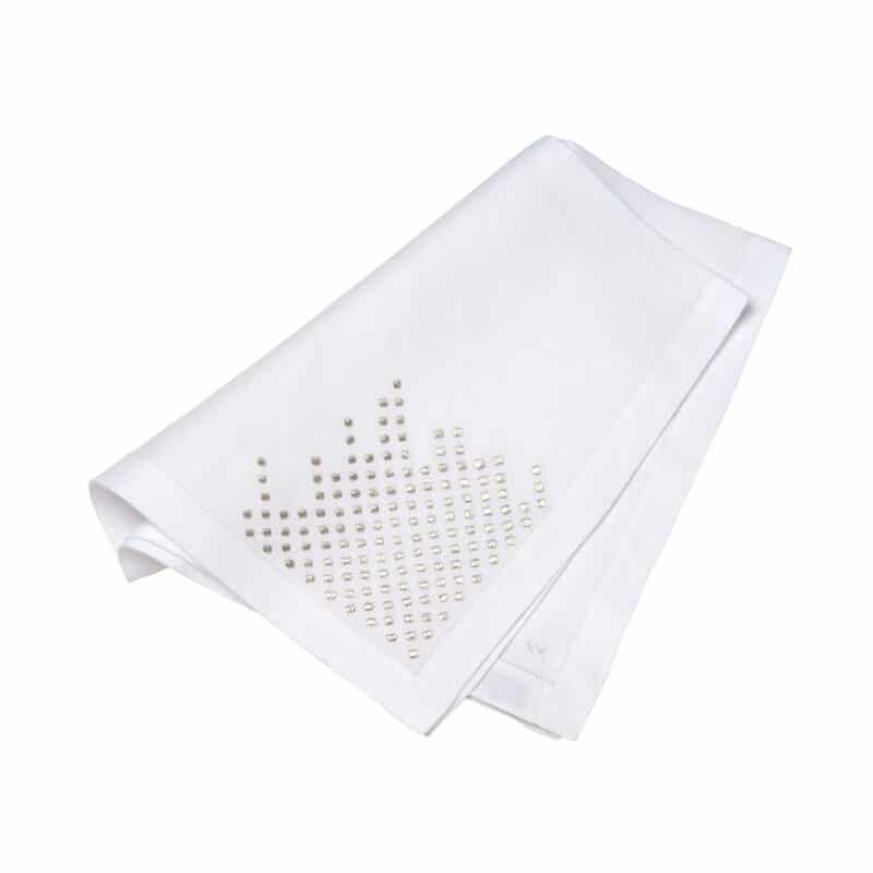 Designer linen napkin