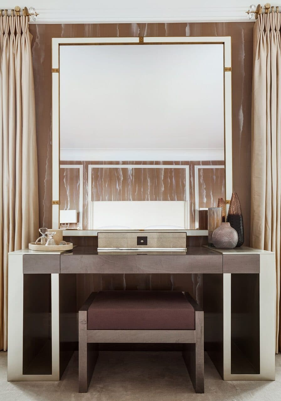 Interior shot of luxury interior design project in Westminster